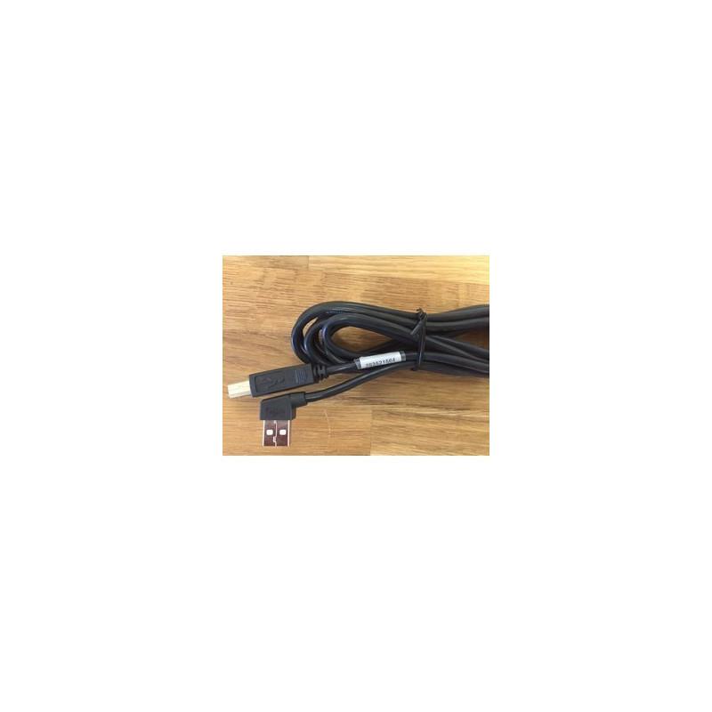Cordon liaison chèque USB - Coudé