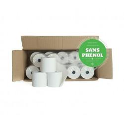 Bobines Thermiques TPE et Caisse 57x60x12 - Lot de 20 Sans Phenol