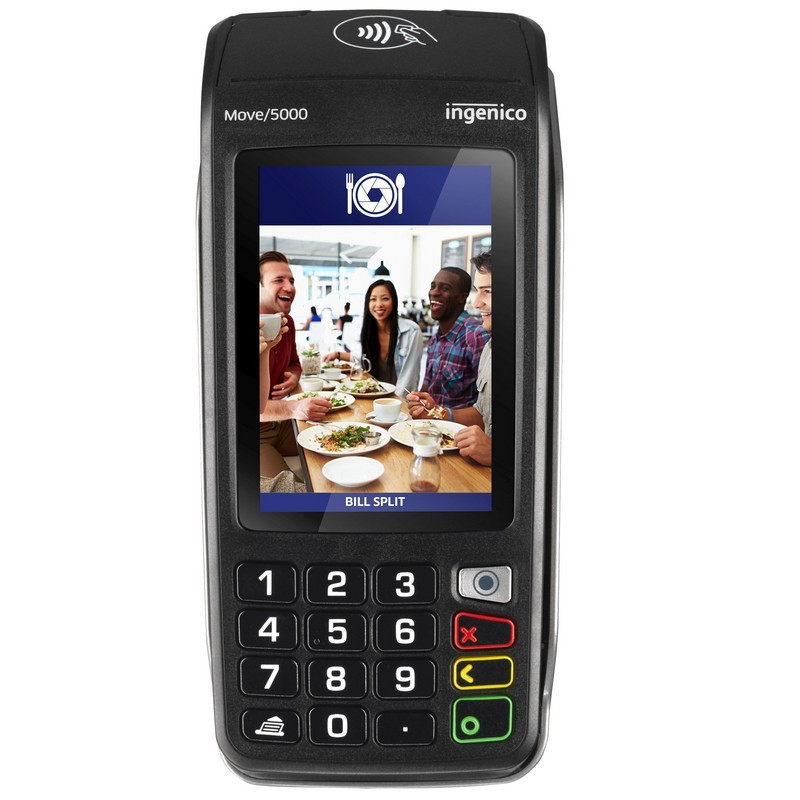 TPE PORTABLE INGENICO TETRA MOVE 5000 3G / GPRS SANS CONTACT